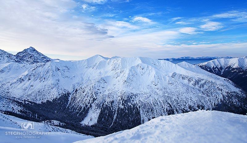 Zima Kasprowy Wierch, plener w górach 03