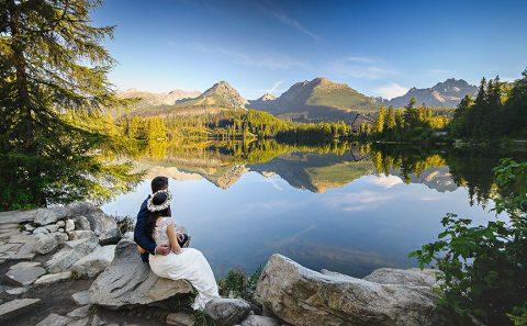 poranny plener w bajkowych Tatrach
