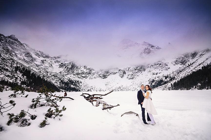 Tatry, Zimowy plener Ślubny w Górach