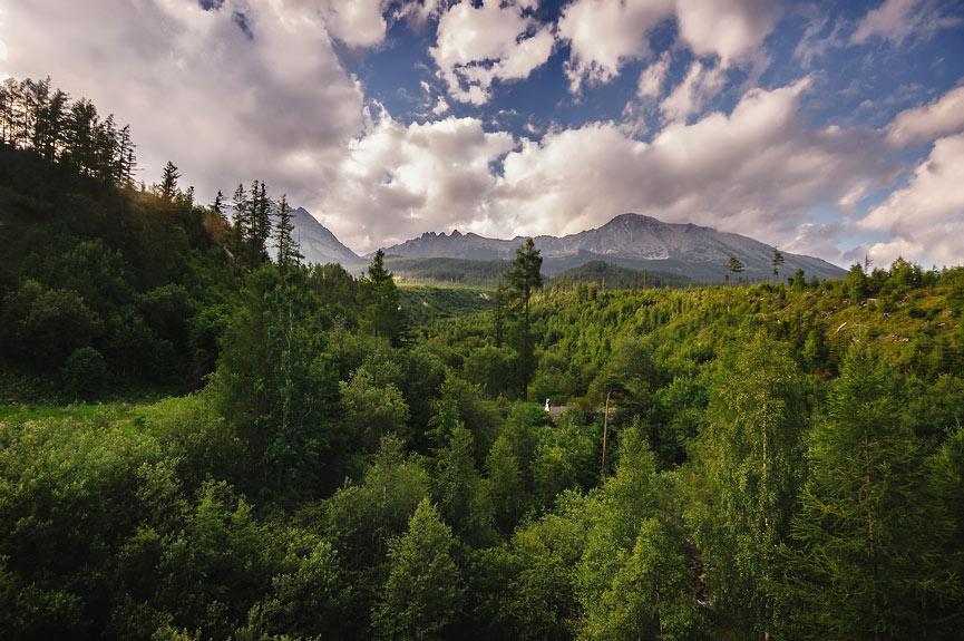 Górski plener w Tatrach Słowackich